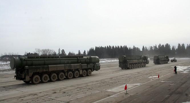 Tên lửa hạt nhân chiến lược Nga