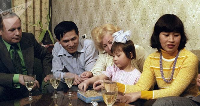 Gia đình các thành viên phi hành đoàn tàu vũ trụ