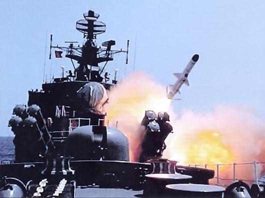 58 tên lửa Kalibr Nga đã được phóng tấn công phiến quân Syria ảnh 1