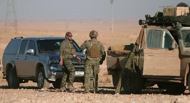 Đặc nhiệm Mỹ có mặt tại Raqqa hậu thuẫn người Kurd đánh chiếm