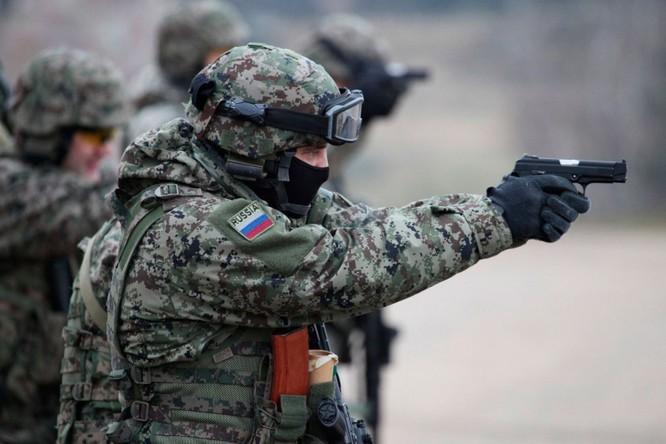 Lính đặc nhiệm Spetznaz của Nga