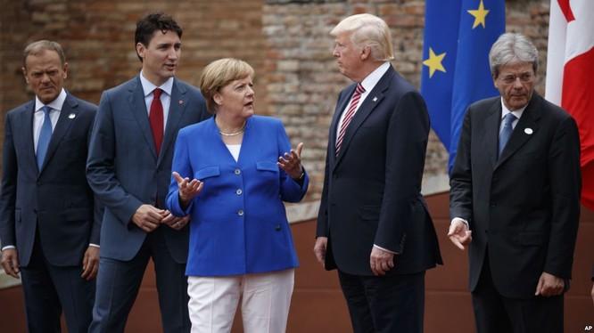 Tổng thống Mỹ Donald Trump vừa có chuyến thăm châu Âu