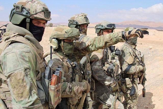 Đặc nhiệm Nga trực tiếp chiến đấu tại chiến trường Syria