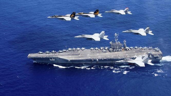 Nhóm tàu sân bay Mỹ luôn thường trực ở các điểm nóng