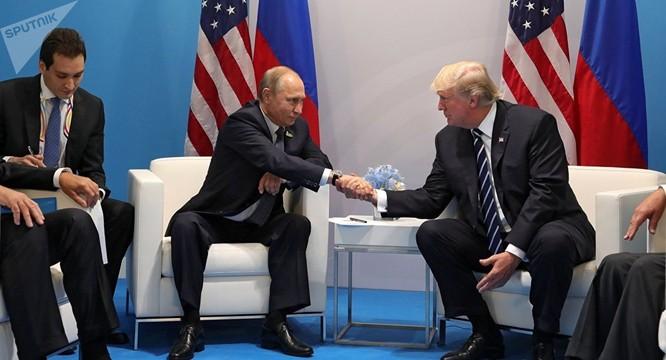 Ông Putin gặp tổng thống Mỹ Donald Trump tại Hamburg, Đức vừa qua