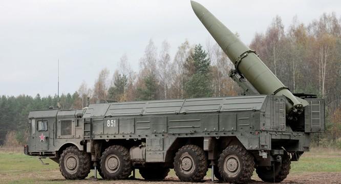 Nga đã triển khai tên lửa đạn đạo chiến thuật Iskander ở biên giới phía tây