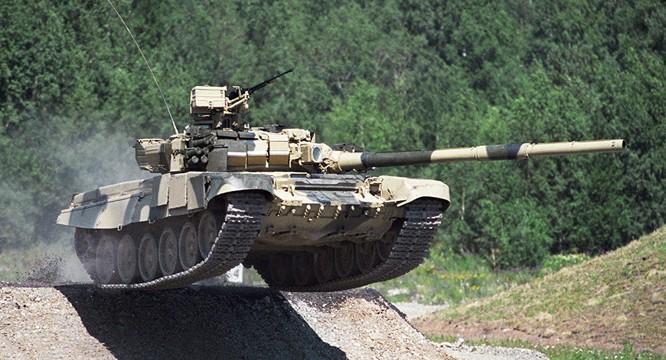 Xe tăng T-90 Nga cũng đang làm mưa làm gió tại chiến trường Syria