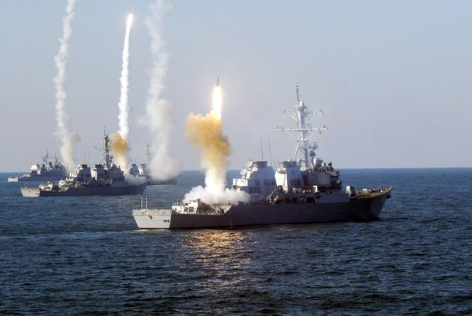 Mỹ thường mở màn cuộc chiến bằng đòn tấn công tên lửa Tomahawk