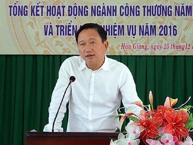 Trịnh Xuân Thanh đang bị truy nã quốc tế do gây thiệt hại hơn 3.200 tỷ đồng của PVC