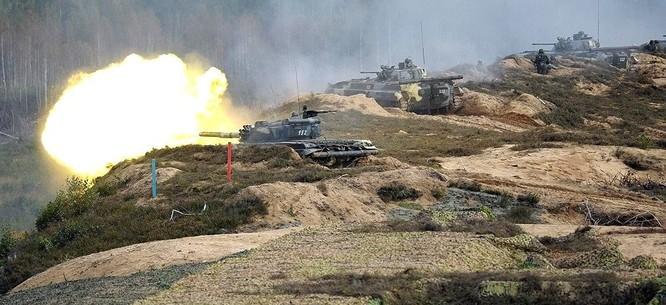 Nga huy động một lượng vũ khí, trang bị lớn vào cuộc tập trận Zapad 2017
