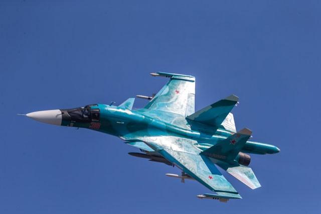 Nga tung hoành chiến trường Syria với dàn siêu chiến cơ ảnh 2