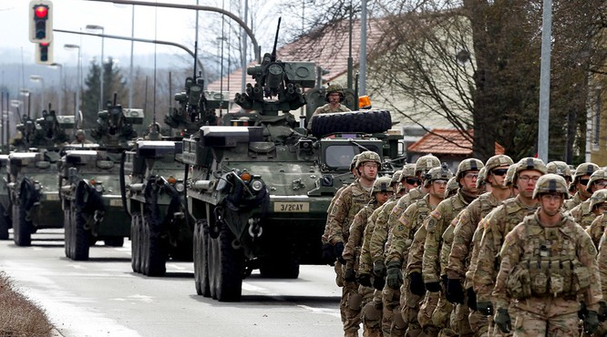 Lực lượng NATo ngày càng tiến sát biên giới Nga