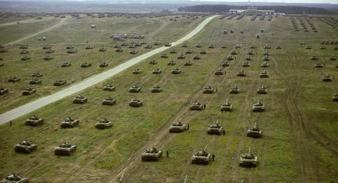 Xe tăng và Belarus tham gia cuộc tập trận Zapad