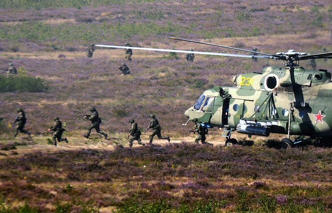 Quân đội Nga và Belarus trong cuộc tập trận Zapad 2017