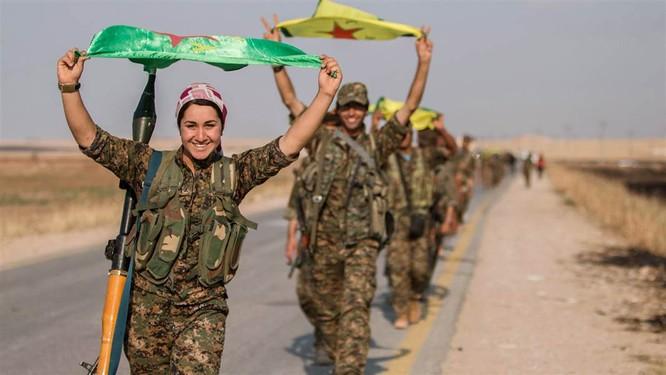 Với sự hậu thuẫn của Mỹ, người Kurd đang có kế hoạch thành lập một nhà nước độc lập tại Syria
