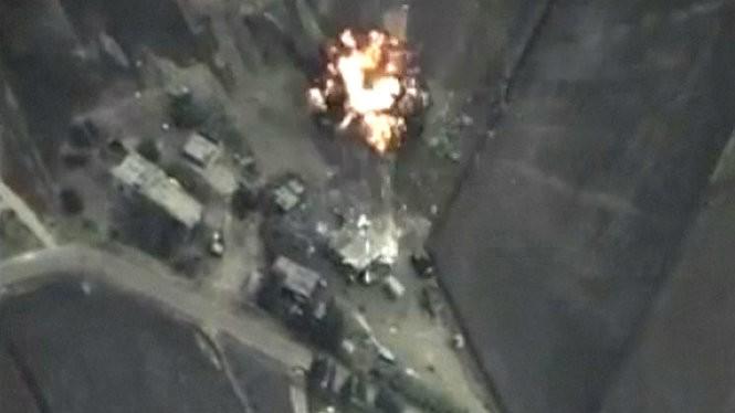 Mục tiêu IS bị không quân Nga phá hủy