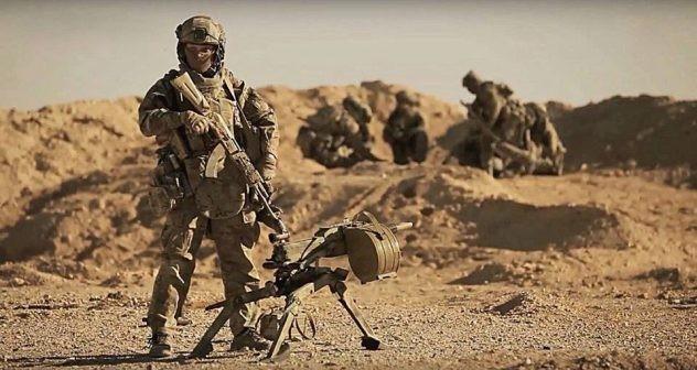 Đặc nhiệm Nga nổi tiếng thiện chiến và dũng cảm trực tiếp chiến đấu tại Palmyra, Syria