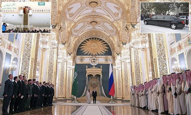 Sự kiện quốc vương Saudi Arabia thăm Mátxcơva được xem là chưa từng có