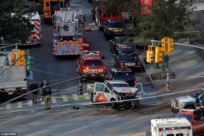Hiện trường vụ khủng bố ở New York
