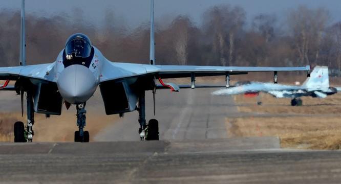 Su-35S Nga làm nhiệm vụ tại chiến trường Syria