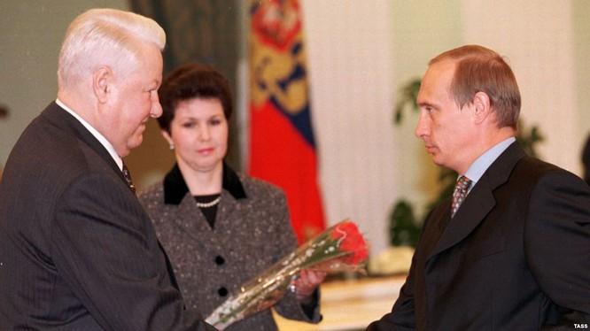 Tổng thống Eltsin đã