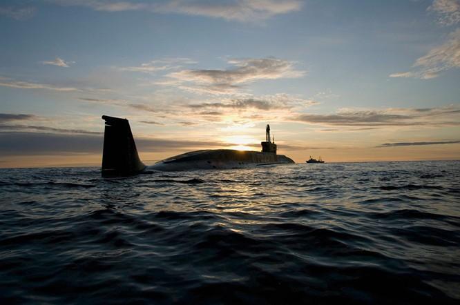 """Tàu ngầm hạt nhân của đề án 955 lớp """"Borey"""" """"Yury Dolgoruky"""""""