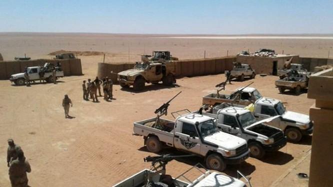 căn cứ Mỹ ở Al Tanf, Syria