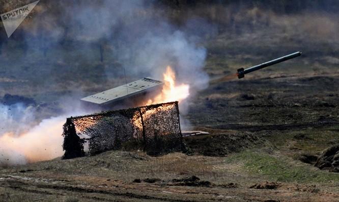 Hệ thống phun lửa hạng nặng (TOS-1) Buratino