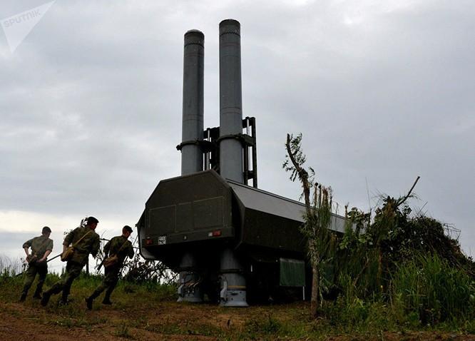 Hệ thống tên lửa phòng thủ bờ biển mới Bastion trong cuộc tập trận ở Vùng Primorsky