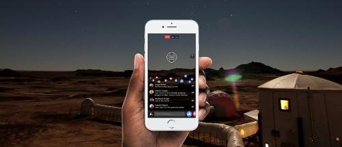 Quay video trực tiếp 360 độ sắp có mặt trên Facebook ảnh 1