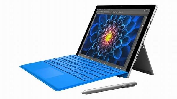 Microsoft Surface Pro 4 – Rõ ràng, Microsoft đang dẫn đầu phân khúc laptop có khả năng tháo rời thành máy tính bảng. Trên thực tế có thể khẳng định rằng, Microsoft đã phát minh ra dòng máy tính bảng đi kèm bàn phím để trở thành laptop. Surface Pro 4 cỡ 12,3 inch là phiên bản mới nhất của dòng sản phẩm này. Máy nổi bật với màn hình lớn, độ phân giải cao, sắc nét và bút từ tuyệt vời.