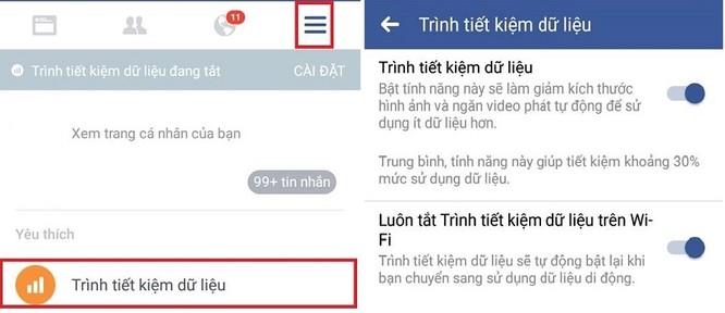 Mẹo tiết kiệm dung lượng 3G khi lướt Facebook ảnh 2