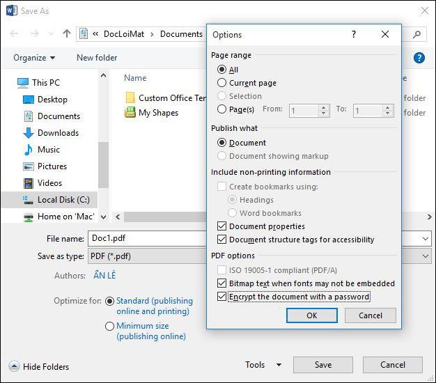 3 cách đặt mật khẩu bảo vệ file PDF ảnh 1