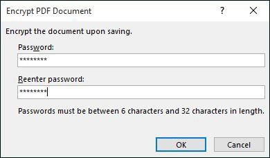 3 cách đặt mật khẩu bảo vệ file PDF ảnh 2