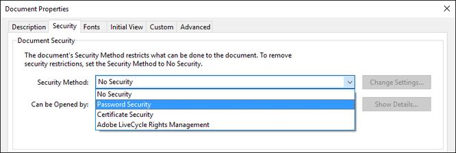 3 cách đặt mật khẩu bảo vệ file PDF ảnh 3
