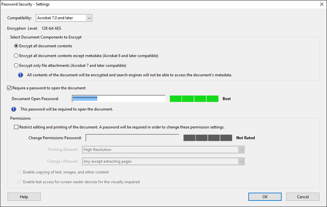 3 cách đặt mật khẩu bảo vệ file PDF ảnh 4