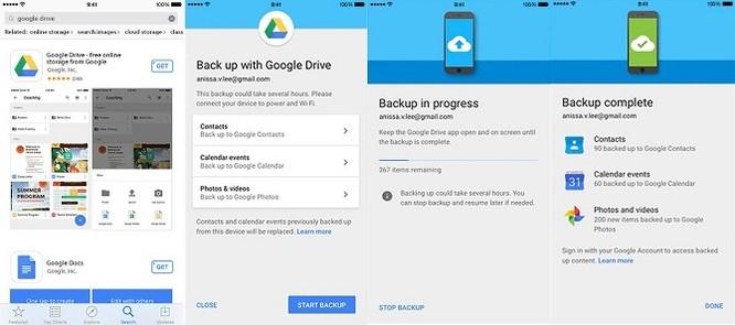 Google giới thiệu tính năng đồng bộ dữ liệu iPhone sang máy Android ảnh 1
