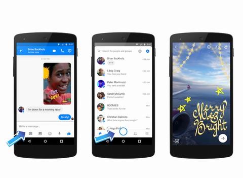 Messenger ra mắt chức năng chụp ảnh mới cho người dùng ảnh 1