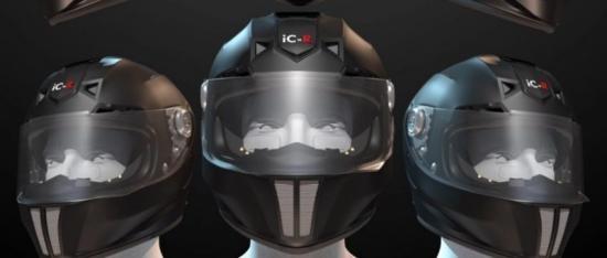 iC-R : Mũ bảo hiểm của tương lai ảnh 5