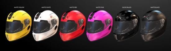 iC-R : Mũ bảo hiểm của tương lai ảnh 2