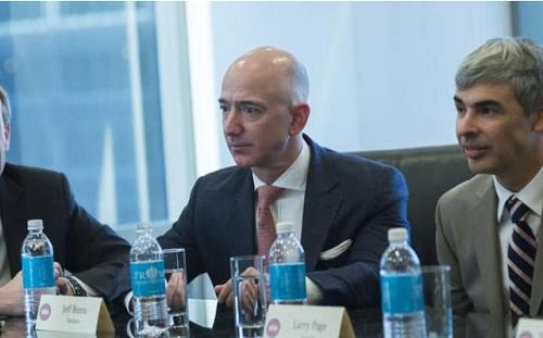Các lãnh đạo Công nghệ căng thẳng, còn ông Trump thì mỉm cười ảnh 3