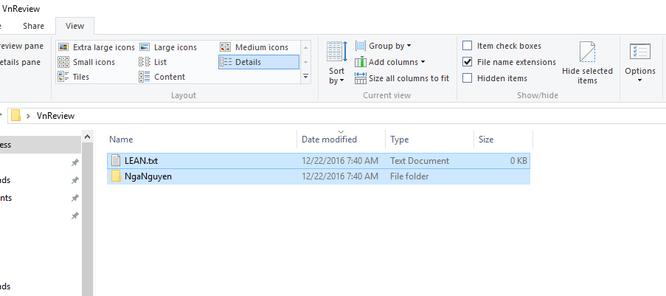 Mẹo ẩn file và thư mục trên Windows 10 ảnh 3