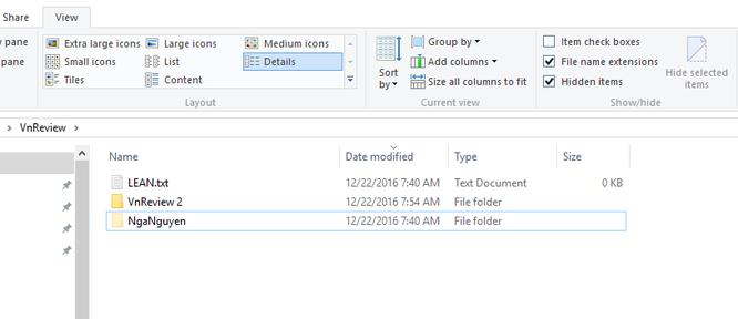 Mẹo ẩn file và thư mục trên Windows 10 ảnh 5