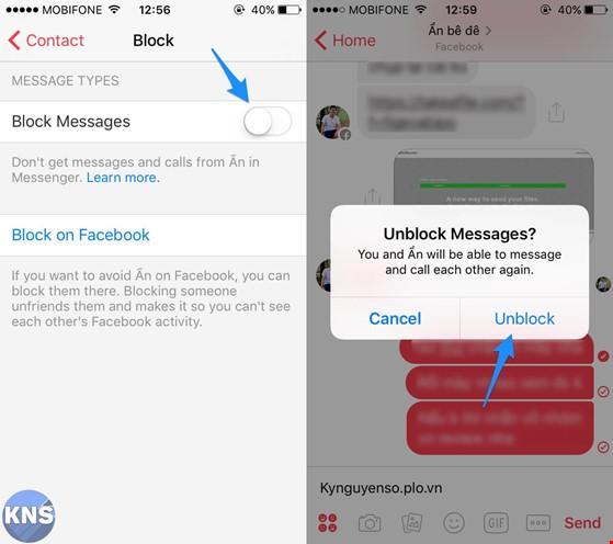 Mẹo chặn tin nhắn nhưng không hủy kết bạn Facebook ảnh 2