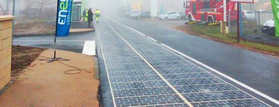 Đường năng lượng mặt trời đầu tiên trên thế giới ảnh 2