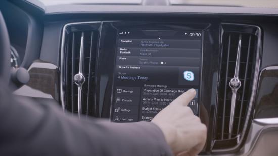 Skype sẽ có mặt trên xe Volvo ảnh 3