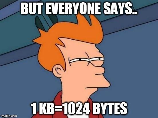 Tại sao ổ cứng/ USB không hiển thị đủ dung lượng như quảng cáo? ảnh 1