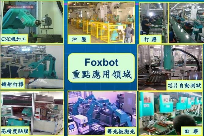 Foxconn dự định dùng robot thay thế toàn bộ công nhân ảnh 1