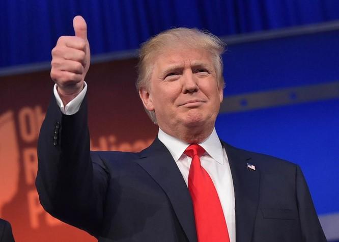 Tổng thống Mỹ mới đắc cử Donald Trump.