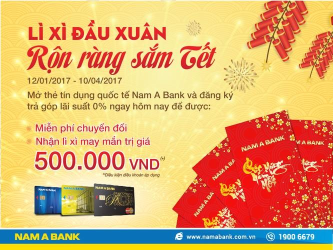 NamA Bank triển khai khuyến mãi lớn cho tân xuân Đinh Dậu ảnh 1